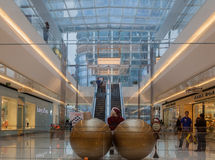 Christmas JK Mall Sao Paulo Stock Image