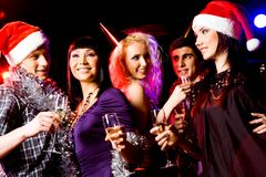 Christmas joy Stock Images