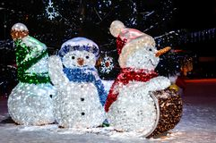 Christmas joy. As the song says, It is the most wonderful time of the year royalty free stock image