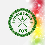 Christmas Joy background Stock Image