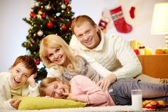 Christmas joy Royalty Free Stock Photo