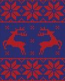 Christmas jumper pattern design Stock Photography