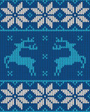 Christmas jumper pattern design Stock Images