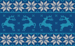 Christmas jumper pattern design Royalty Free Stock Photography
