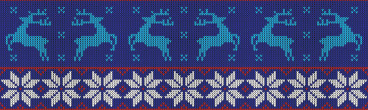Christmas jumper pattern design Stock Photo