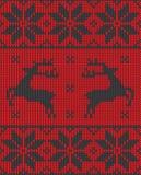 Christmas jumper pattern design Royalty Free Stock Photos