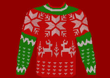 Christmas jumper Royalty Free Stock Images