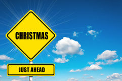 Christmas just ahead Royalty Free Stock Photo
