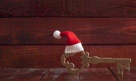 Christmas key Royalty Free Stock Images