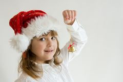 Christmas kid Royalty Free Stock Images