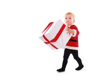 Christmas kid Stock Photography