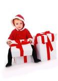 Christmas kid Stock Photos