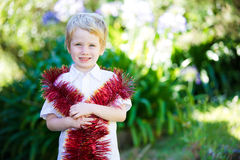 Christmas kid. Stock Images