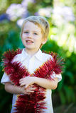 Christmas kid. Royalty Free Stock Photos