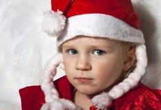 Christmas kid Royalty Free Stock Photos