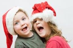 Christmas kids stock images