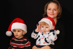Christmas kids Stock Image