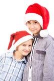 Christmas Kids Stock Photo