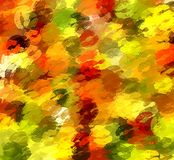 Christmas kiss abstract background Royalty Free Stock Images
