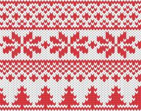 Christmas knitted background royalty free stock photo