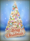 Christmas knitted background. EPS 10 Stock Photography