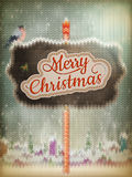 Christmas knitted background. EPS 10 Royalty Free Stock Photos