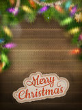 Christmas knitted background. EPS 10 Royalty Free Stock Image
