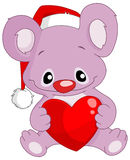 Christmas koala Royalty Free Stock Photography