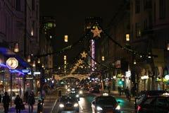 Christmas at Kungsgatan Stock Image