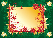 Christmas label background Royalty Free Stock Photography