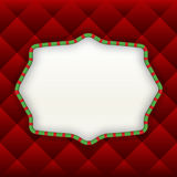 Christmas Label Background Royalty Free Stock Photos