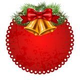 Christmas label Stock Photo