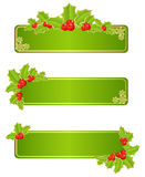 Christmas labels royalty free illustration