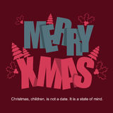 Christmas Labels - Card Ideas Stock Photo