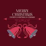 Christmas Labels - Christmas Bells Royalty Free Stock Image