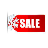 Christmas labels Royalty Free Stock Image