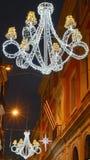 Christmas lamps royalty free stock photos
