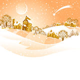Christmas landscape. Stock Photography