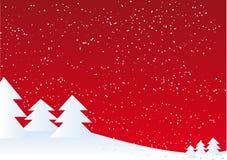 Christmas landscape Stock Photos