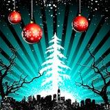 Christmas Landscape Royalty Free Stock Photo