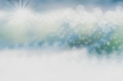 Christmas landscape Royalty Free Stock Image