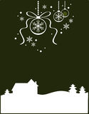 Christmas Landscape (II) Stock Photos