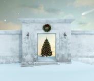 Christmas landscape Stock Image