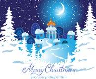 Christmas  landscape. Stock Photos