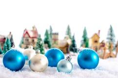 Christmas landscape Stock Photo