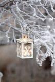 Christmas lantern Stock Photography