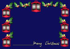 Christmas lantern Royalty Free Stock Image