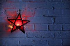 Christmas Lantern royalty free stock image