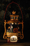 Christmas lantern Royalty Free Stock Photos