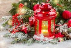 Christmas lantern close up Royalty Free Stock Images